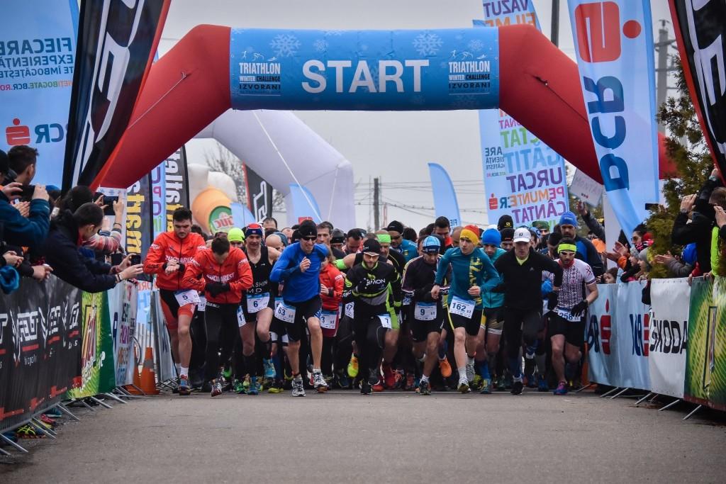 Start triatlon