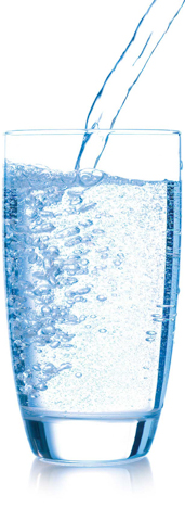 clear water pouring in glass.eps