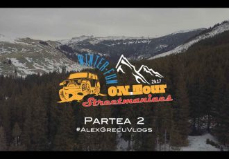 Streetmaniacs ON Tour Winter Fun Partea 2 - Vlog Alex Grecu