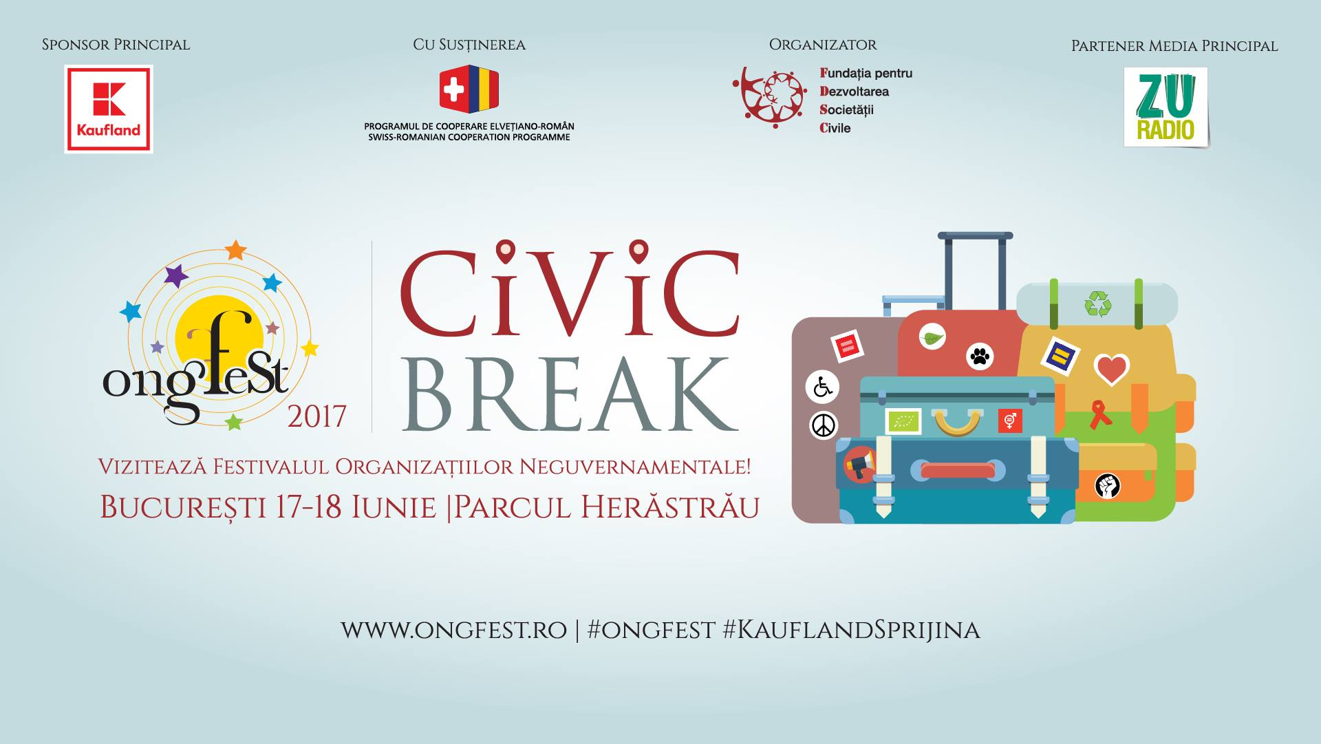 ONGfest Civic Break Bucuresti Kaufland