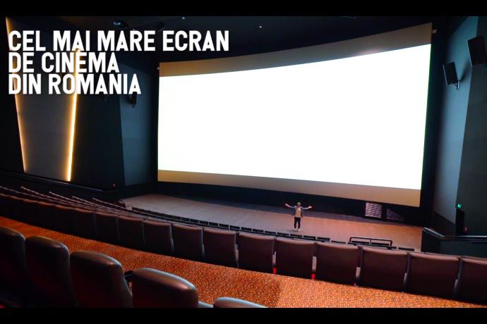Cea mai performantă sală de cinema din România!
