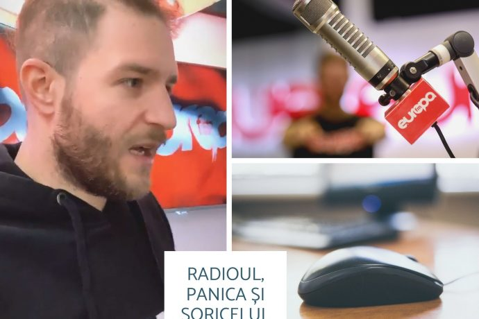Radioul, panica și șoricelul